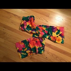 "Colorful Silk Scarf 82"" - great for that LBD!"